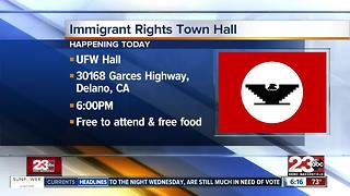 The United Farm Workers Foundation to host an immigration rights discussion - Video