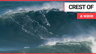 Brit surfer breaks new world record for taking on biggest wave