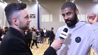 Kyrie Irving Scared to Defend His Flat Earth Theory After Flight to London