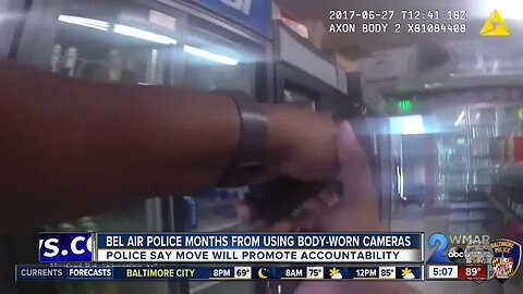 Bel Air Police 'months' from equipping officers with body-worn cameras
