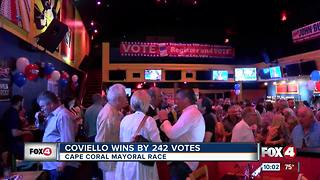 Joe Coviello elected mayor of Cape Coral - Video
