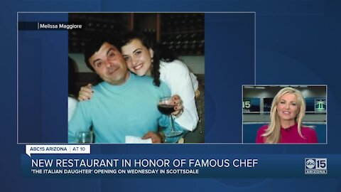 """Melissa Maggiore opening """"The Italian Daughter"""" to pay homage to her father, chef Tomaso Maggiore"""