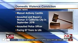 DA's Office announces conviction in significant domestic violence case from 2016 - Video