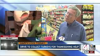 Help feed KC families with Della Lamb turkey donations
