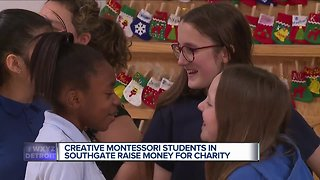 Creative Montessori students in Southgate raise money for charity