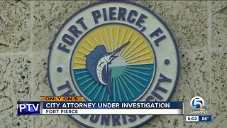 Fort Pierce city attorney accused of creating 'hostile workplace' - Video