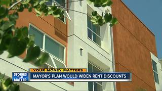 San Diego mayor's housing plan gets discounts for families earning six-figures - Video