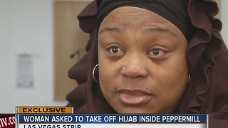 Muslim woman asked to remove hijab at Las Vegas Strip restaurant - Video