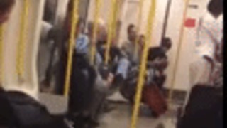 Squirrel Causes Commotion on London Underground - Video