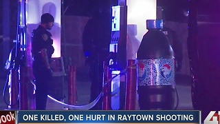 Two men shot at Raytown gas station, one dies - Video