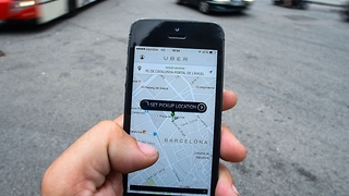 Uber tracking user locations after ride ends - Video