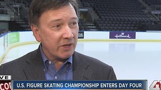 U.S. Figure Skating Championship enters day 4 - Video
