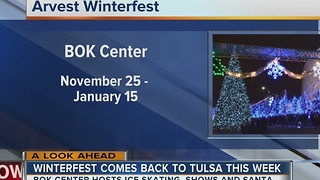 Winterfest makes Tulsa return - Video