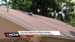 Local non-profit wants to give veterans free, new roofs - Video