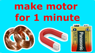 How to Make a Free Energy Mobile Phone Charger - how to - DIY  - Video