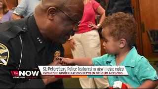 St. Pete Police featured in new music video - Video