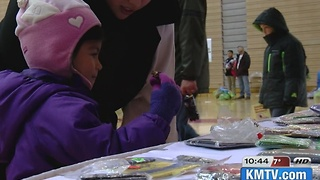 Santa visits Omaha South with OPD - Video
