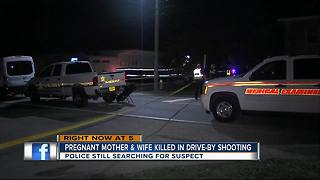 Police: Woman killed in drive-by shooting in front of husband, 10-year-old daughter in Clearwater - Video