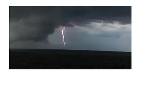 Lightning Strikes Visible in Skies Above Central New York - Video