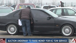 Auction underway to raise money for KC tow service - Video