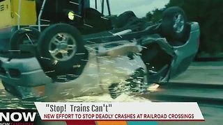 New effort to stop deadly crashes at Railroad crossings - Video