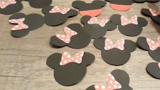 Toppers Minnie Mouse DIY - Video