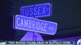 Man and woman found dead in Buffalo home - Video