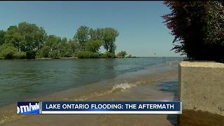 Lake Ontario shore community still reeling from damage--6pm - Video