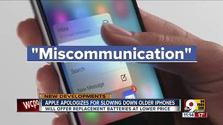 Apple apologizes for slowing down older iPhones - Video