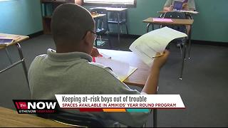 Free program providing help for at-risk youth
