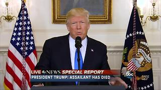 President Trump addresses shooting at congressional baseball practice