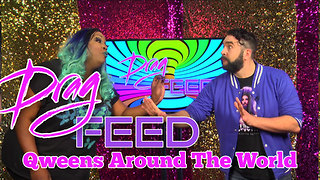 "Jonny McGovern & Lady Red Couture ""Qweens Around The World"" on Drag Feed  - Video"