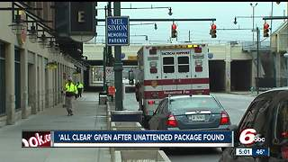 Unattended package leads to evacuation of Bankers Life Fieldhouse - Video