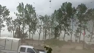 Severe Weather Hits Alberta, Damages Area Around Sylvan Lake - Video