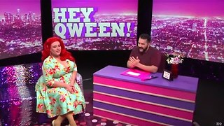 RuPaul's Drag Race Star Delta Work on Hey Qween with Jonny McGovern - Video
