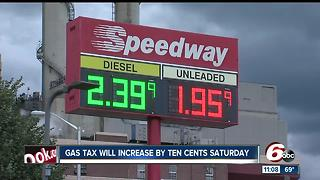 Indiana gas prices set to increase July 1 - Video