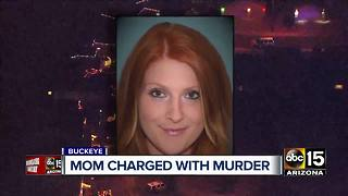Mom facing murder charges after child found shot to death in Buckeye - Video