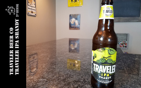 IPA Shandy beer review from Traveler Beer Co.