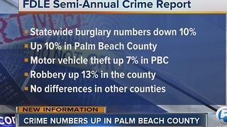 Florida crime rate drops, but murder rate rises in 2016 - Video