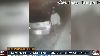 Kidnapping robbery suspect - Video