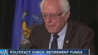 PolitiFact: Bernie Sanders' claim on Trump voters - Video