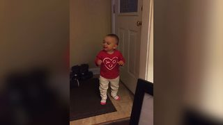 Baby Babbles A Good Argument - Video