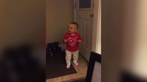 Baby Girl Babbles A Perfectly Good Argument Why She Has To Go Outside
