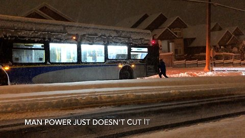 Surprise Snow Storm Paralyzes Transit In Southern British Columbia