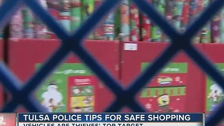 Tulsa Police Tips For Safe Shopping - Video