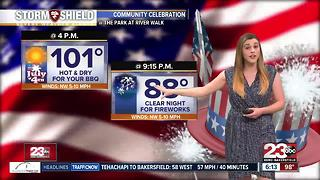 23ABC PM Weather Update 7/2/17 - Video