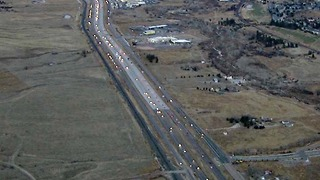 I-25 improveements between Castle Rock and Monument Hill - Video