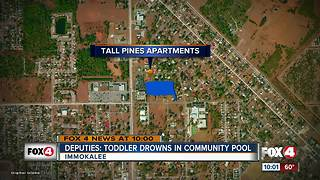 Deputies: Toddler Drowns in Immokalee Pool - Video