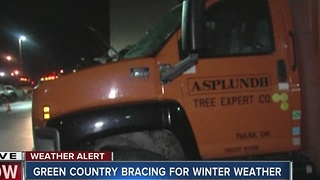 Winter Weather coverage: Green Country bracing for winter weather - Video