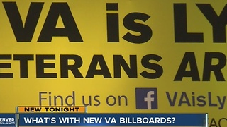 What's up with the new VA billboards? - Video